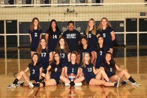 Frosh Girls Volleyball – 2018