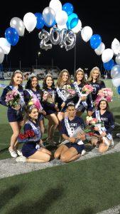 Varsity Cheer Senior Night Photos