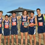 Boys Varsity Cross Country finishes 1st place at PAL League Championship Meet