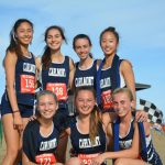 Girls Varsity Cross Country finishes 1st place at PAL League Championship Meet