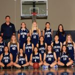 Girls Junior Varsity Basketball Team Photo 2018