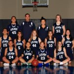 Freshman Girls Basketball Team Photo 2018