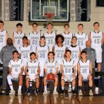 2018 JV Boys Basketball Team Photo