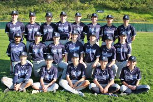2018-2019 JV Baseball Team Photo