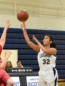 2020 Basketball-Frosh-Girls vs.MercySF 47-20