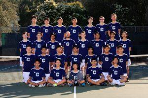 Varsity Boys Tennis Team Photo