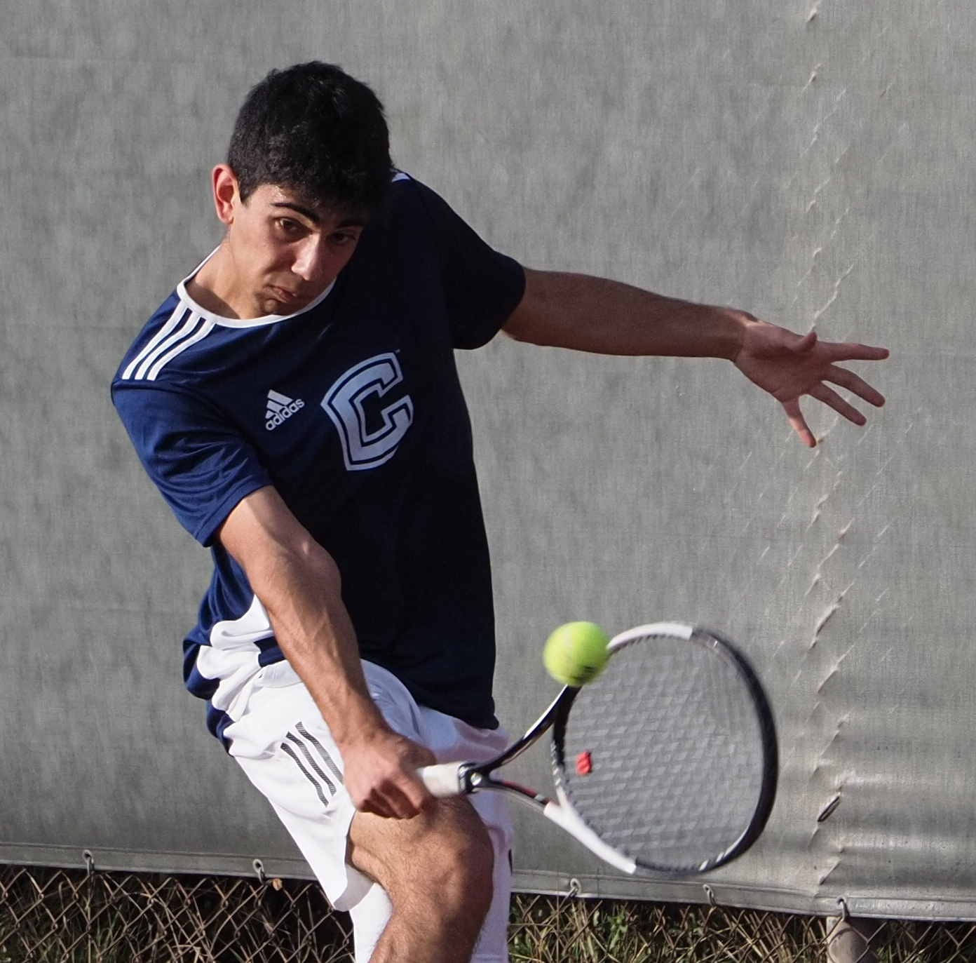 2020 Tennis-Boys-Singles vs.Hillsdale