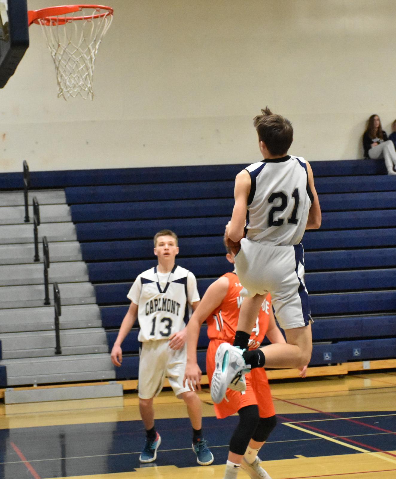 2019-20 Basketball-Boys-Frosh vs.Woodside 72-35