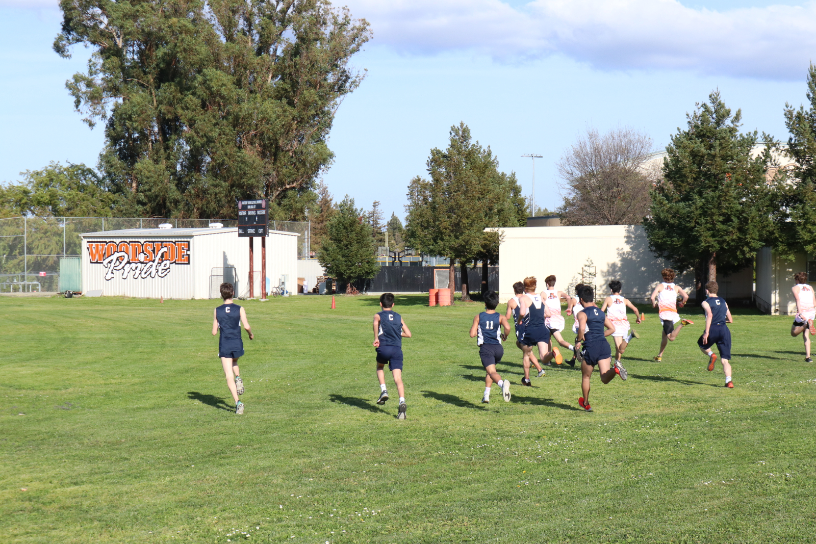 Varsity Boys Cross Country @ Woodside 3-5-21