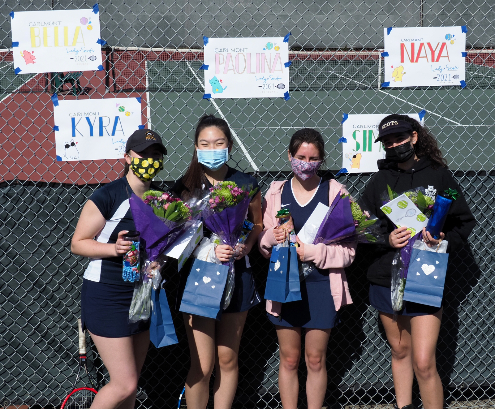 2020-21 Tennis-Girls Senior Presentation, Mar-25-21