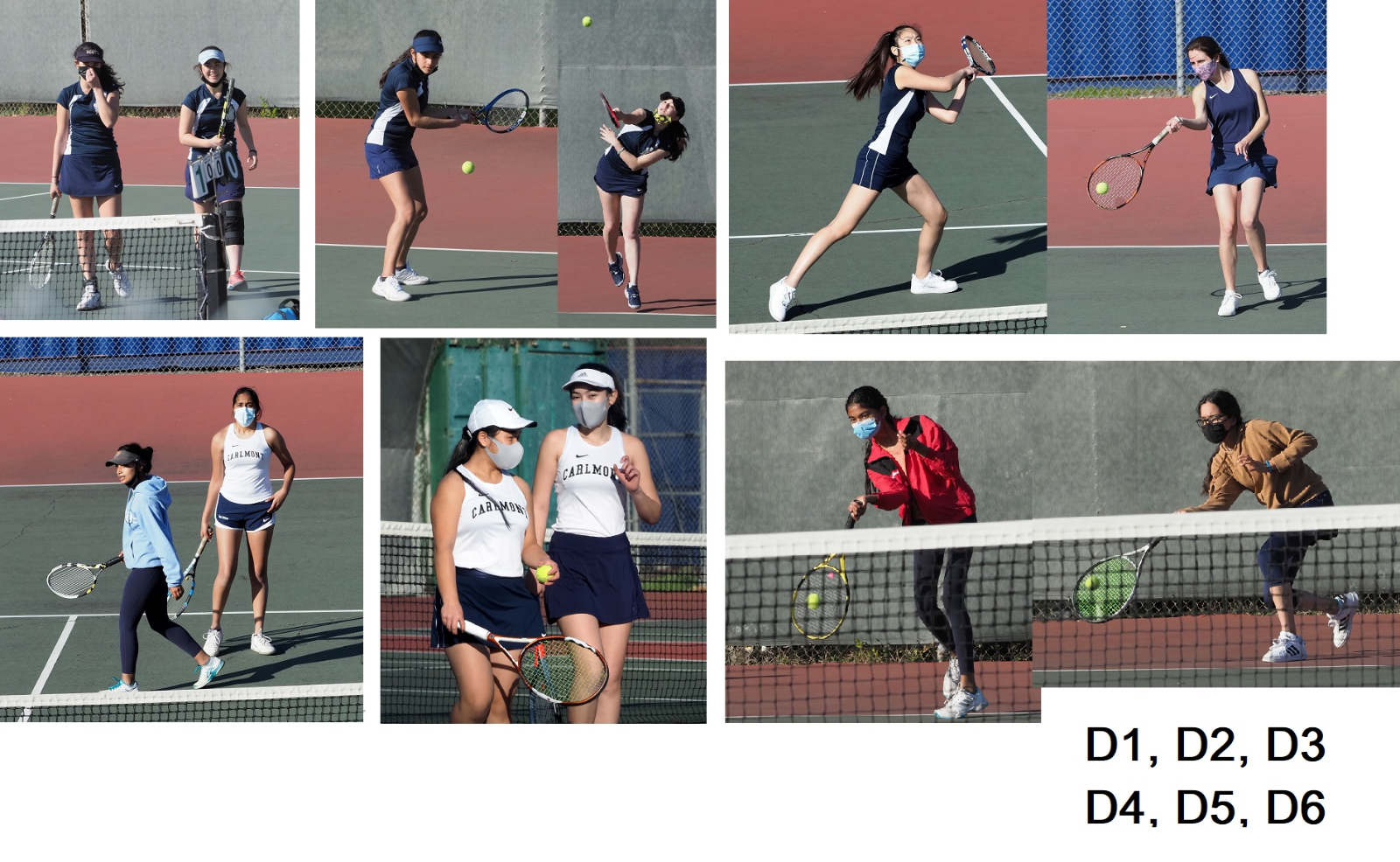 2020-21 Tennis-Girls vs.Sequoia, Doubles, Senior Game, Mar-25-21