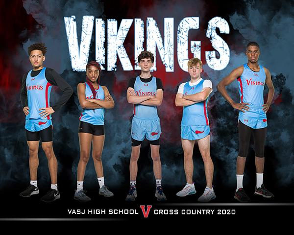 VASJ CROSS COUNTRY – Vikings participate in St. Jude 5K