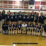 2015 Potomac Division Champions Girls Volleyball 2015