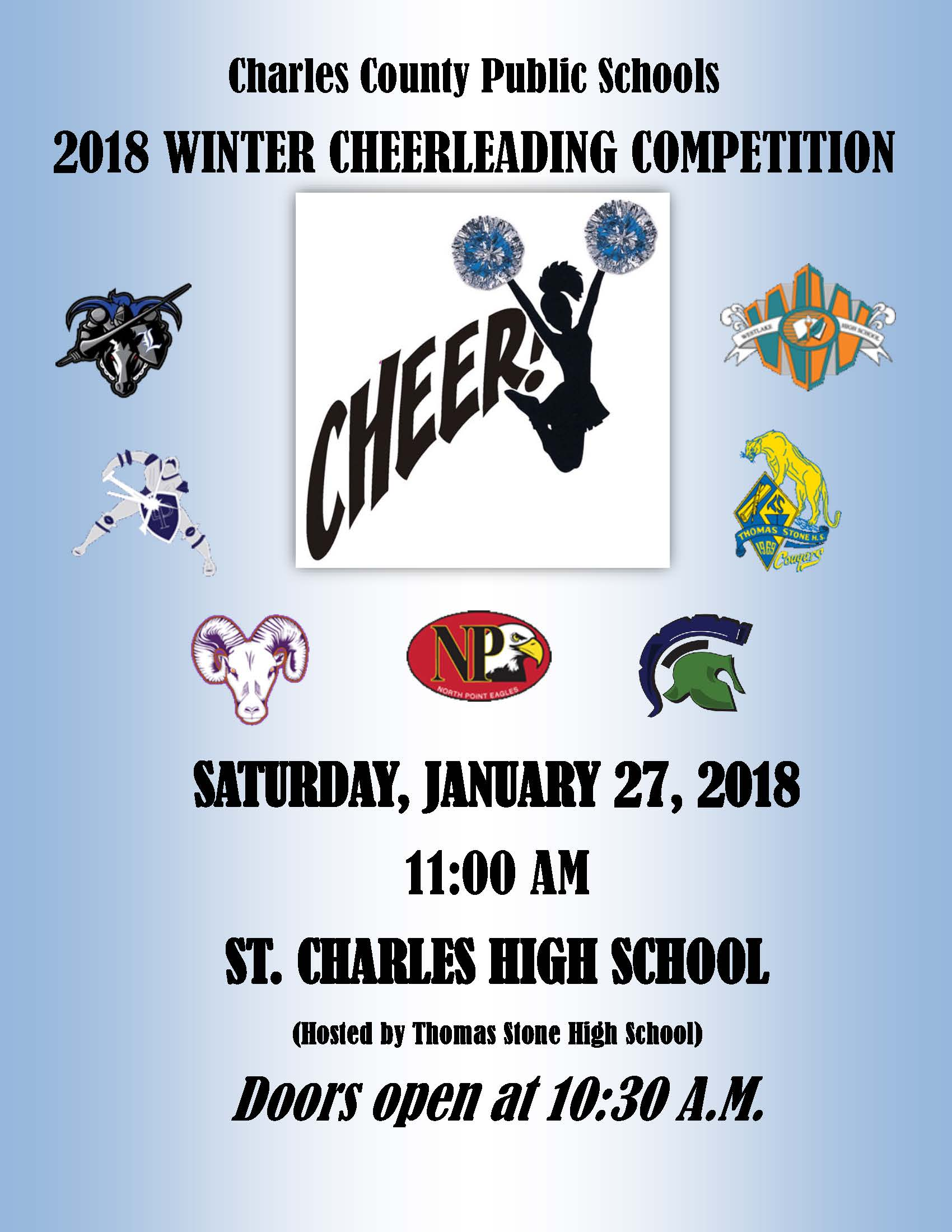 2018 Charles County Winter Cheer Competition