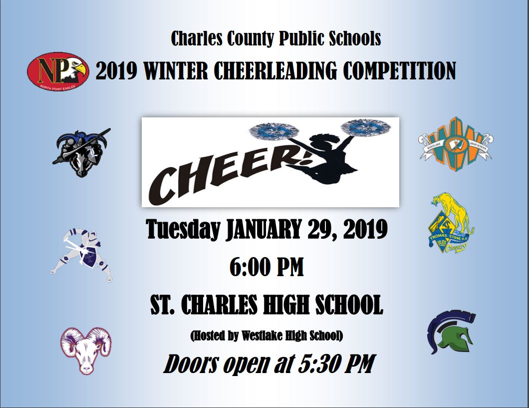 2019 Charles County Cheer Competition Info