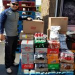 Athletic Boosters donate to Southern Maryland Food Bank