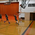 8th Grade Girls' BB Rolls to Victory Over Lakeside