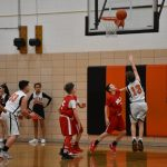 7th and 8th Grade Boys' BB Beat Niles