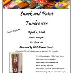 Student Senate Hosts: Snack and Paint Fundraiser