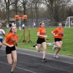 HMS Girls' Track Defeats Poland and Lakeside