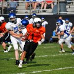 HMS Football Beats Lakeview