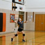 HMS Volleyball Splits with Austintown