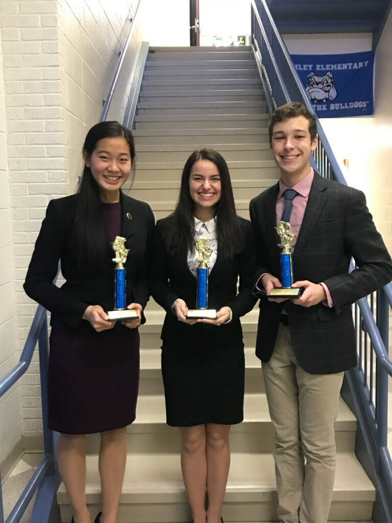 Speech and Debate Results from Saturday