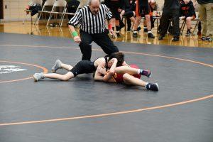 MS Wrestling vs. South Range 1