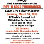 Howland Tiger Booster Club Pot 'O Gold Fundraiser