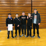 Wrestling Gets 5 to Districts, Woomer Sectional Champ