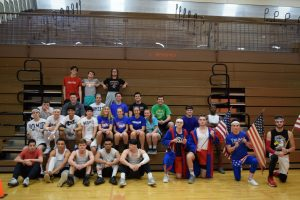 Senior Dodgeball Players