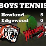 Boys Tennis Takes Down Edgewood 5-0