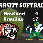 Softball Falls to Ursuline 17-4