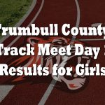 Trumbull County Track Meet Day One Results/Girls