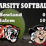Lady Tigers Softball Falls to Salem 10-0