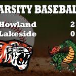 Baseball Beats Lakeside 2-0