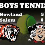 Boys Tennis Beats Salem 5-0