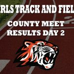 Girls Track and Field Takes Second At County