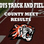 Boys Track and Field Takes Second at County
