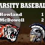 Baseball Falls to McDowell 2-1