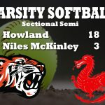 Softball Trounces Niles in Sectional Semi