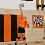 8th Volleyball Loses Close Battle with Canfield