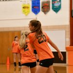 8th Volleyball vs. Western