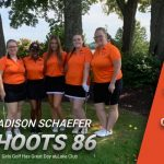 Lady Tigers Golf Shows Support at Terlesky Invitational