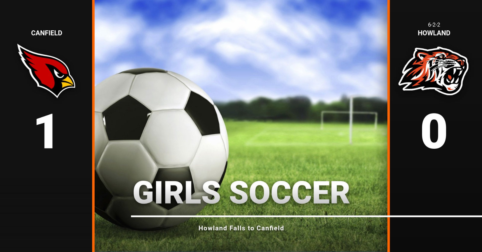 Girls Soccer Teams Fall to Canfield