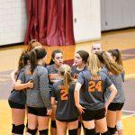 8th Grade Volleyball vs. Warren AAC Tournament