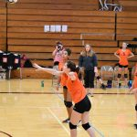 7th Volleyball vs. Boardman AAC Tournament