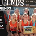 Girls Cross Country Takes Second
