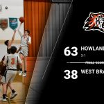 8th Boys Dominate West Branch