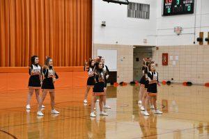 8th Cheerleading vs. Austintown